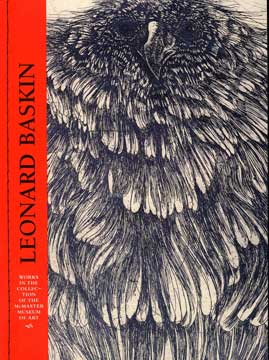 Leonard Baskin catalogue cover