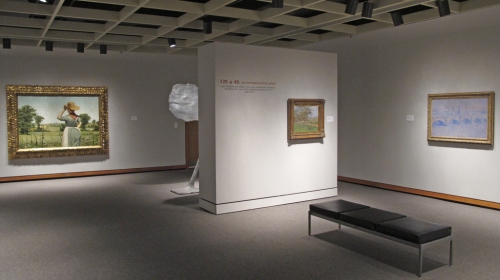Installation View of 125 & 45: An Interrogative Spirit